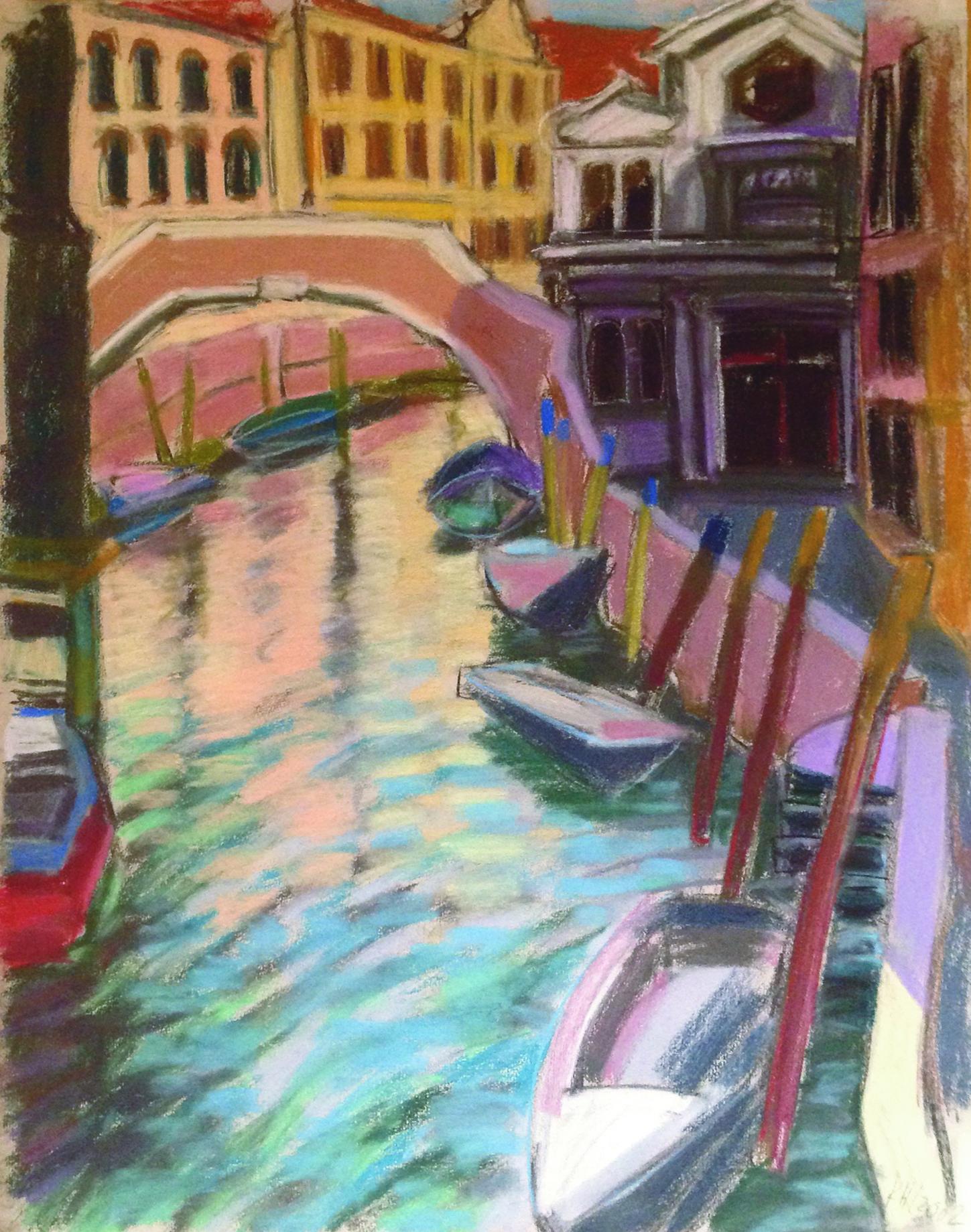 Venedig, Boote am Kanal(c)kheymach