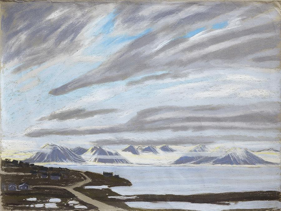 Bjørndalen-Fjord-Spitzbergen