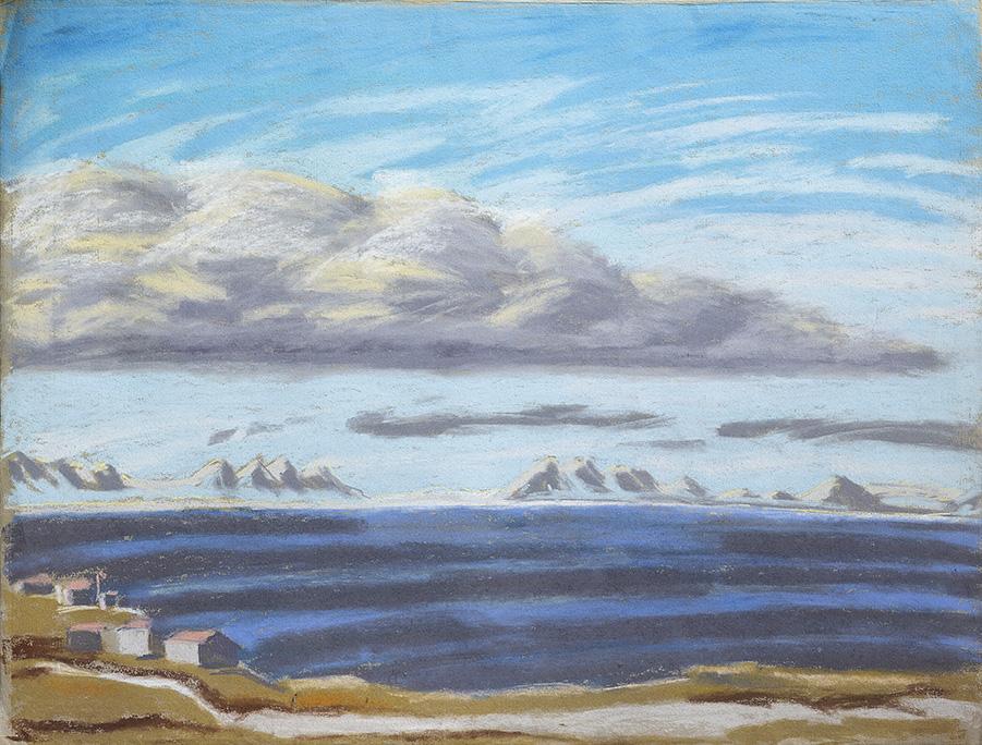 Isfjord-Longyearbyen-Spitzbergen