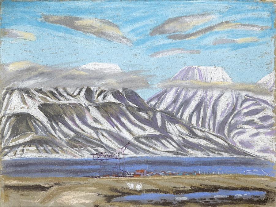 Kohlehafen-Longyearbyen-Spitzbergen