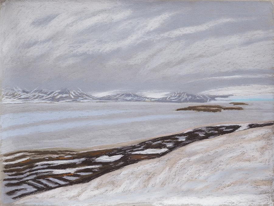 Kongsfjord-Ny-Ålesund-Spitzbergen