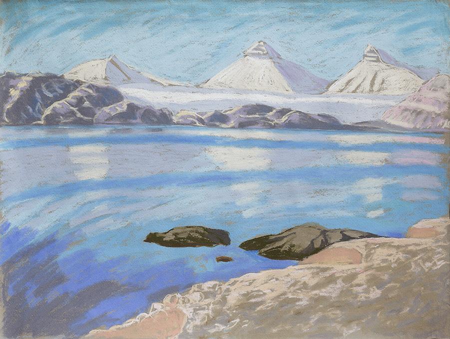 Krossfjord-Tre-Kronar-Gletscher-Ny-Ålesund