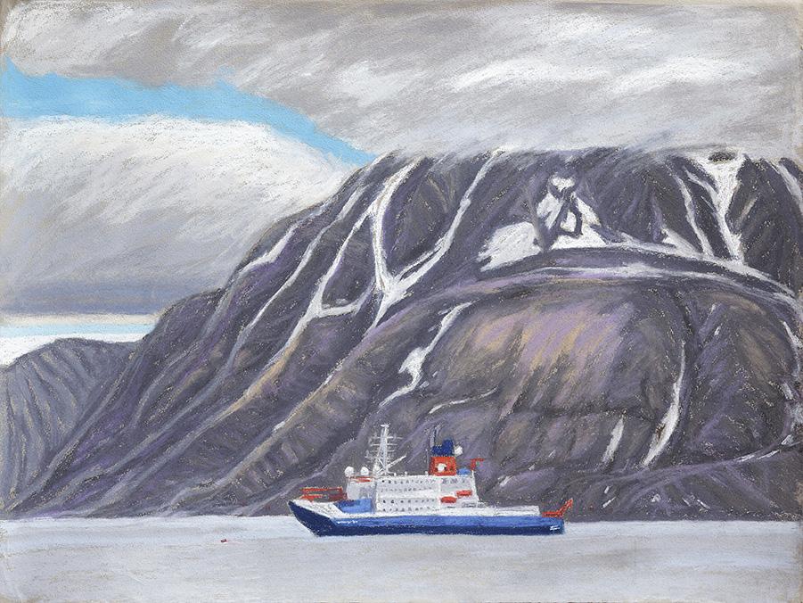 Longyearbyen-Adventfjord-Forschungsschiff-Polarstern(c)kheymach