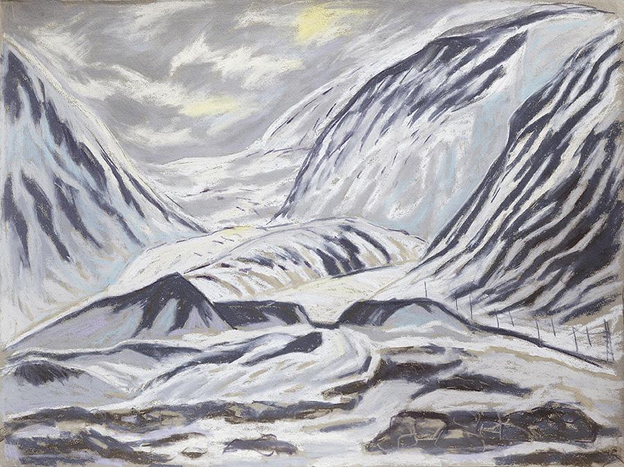Longyearbyen-Nybyen-Spitzbergen