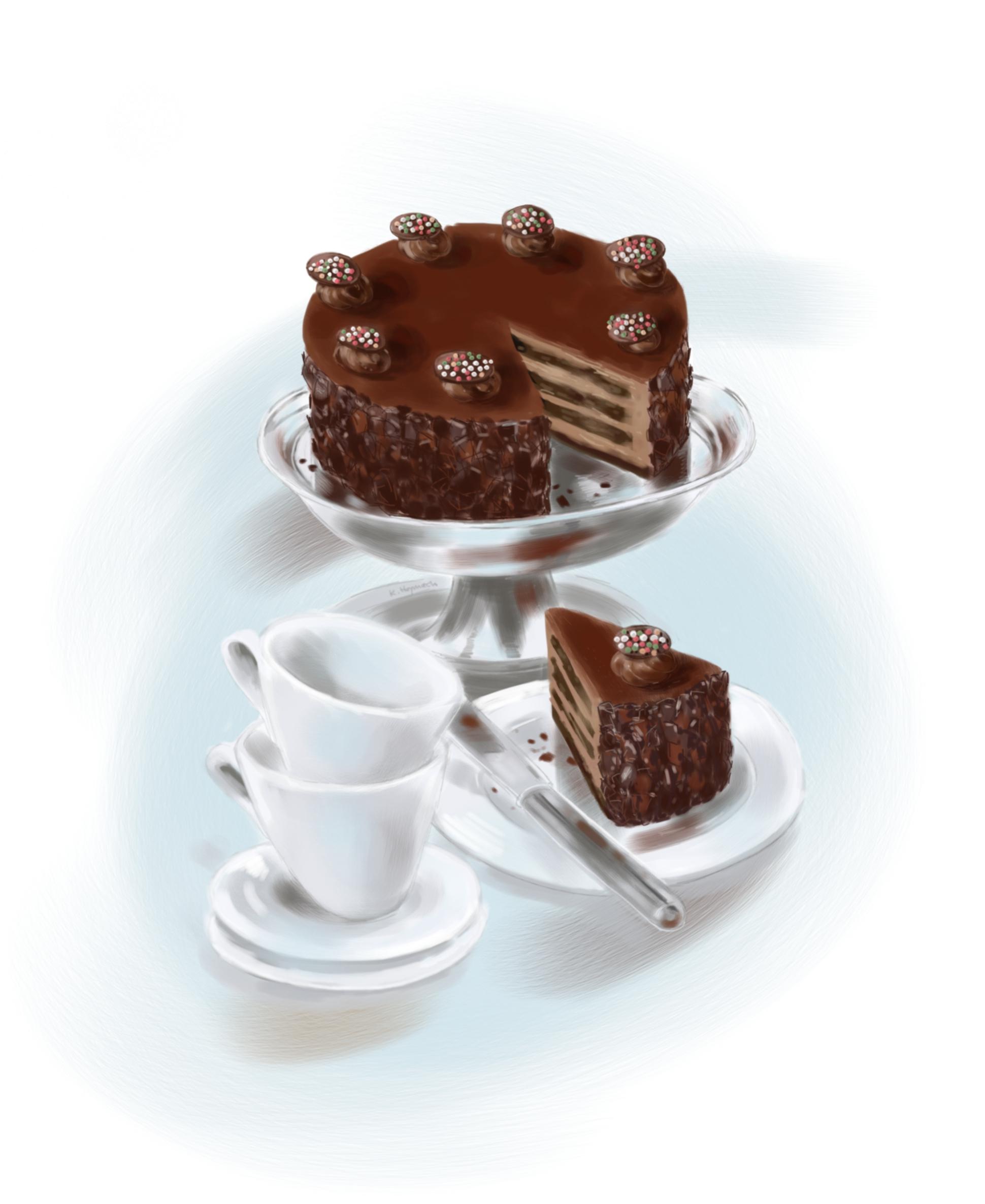 Stilleben mit Torte (c)kheymach