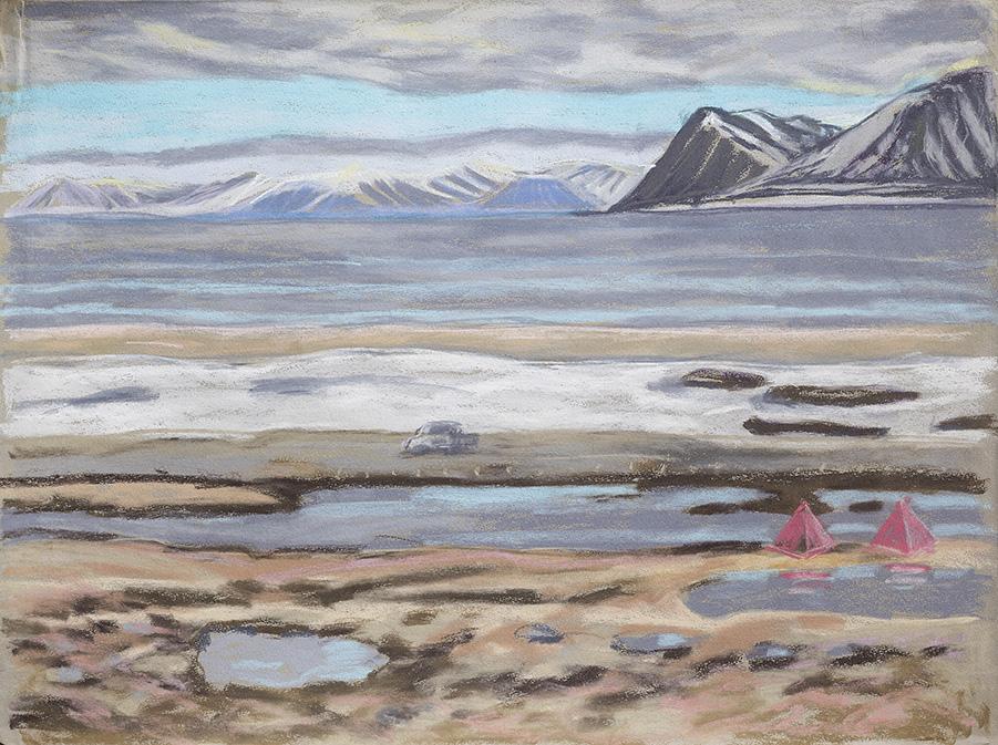Zeltplatz-Longyearbyen